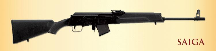 Saiga Rifle 223